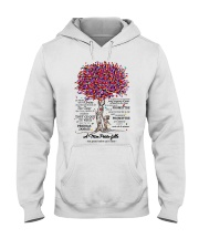 family T-shirt - to granddaughter - never lose  Hooded Sweatshirt thumbnail