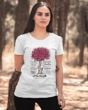 family T-shirt - to granddaughter - never lose  Ladies T-Shirt apparel-ladies-t-shirt-lifestyle-05