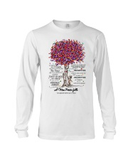 family T-shirt - to granddaughter - never lose  Long Sleeve Tee thumbnail