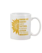 sunflower mug - to girl with tatoos Mug front