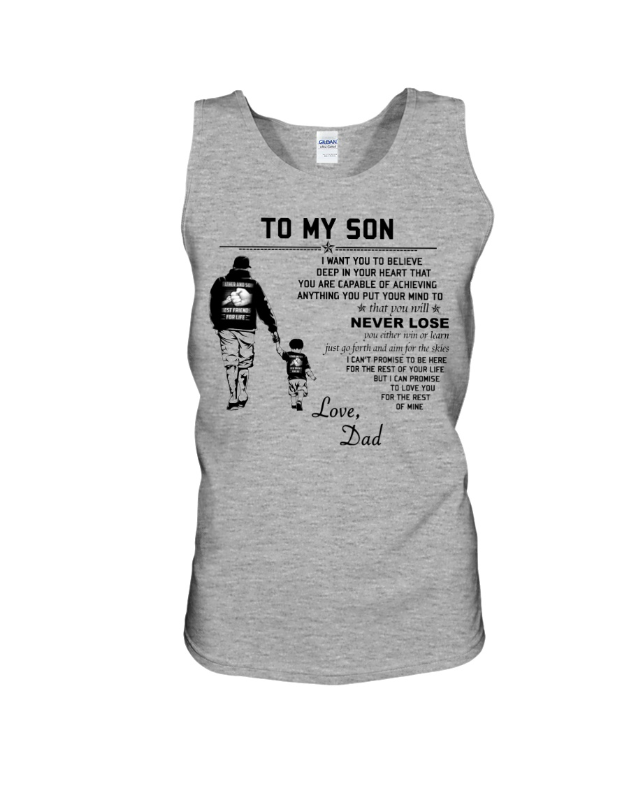 Poster for your daughter Pink version DE2 Unisex Tank