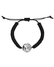 Make it the meaningful message to your daughter Cord Circle Bracelet thumbnail