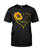 sunflower T-shirt - being a Nana french vs Classic T-Shirt thumbnail