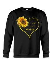 sunflower T-shirt - being a Nana french vs Crewneck Sweatshirt thumbnail