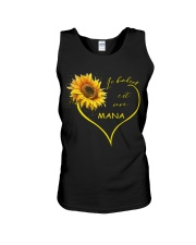 sunflower T-shirt - being a Nana french vs Unisex Tank thumbnail