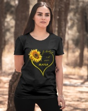 sunflower T-shirt - being a Nana french vs Ladies T-Shirt apparel-ladies-t-shirt-lifestyle-05