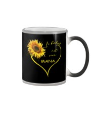 sunflower T-shirt - being a Nana french vs Color Changing Mug thumbnail