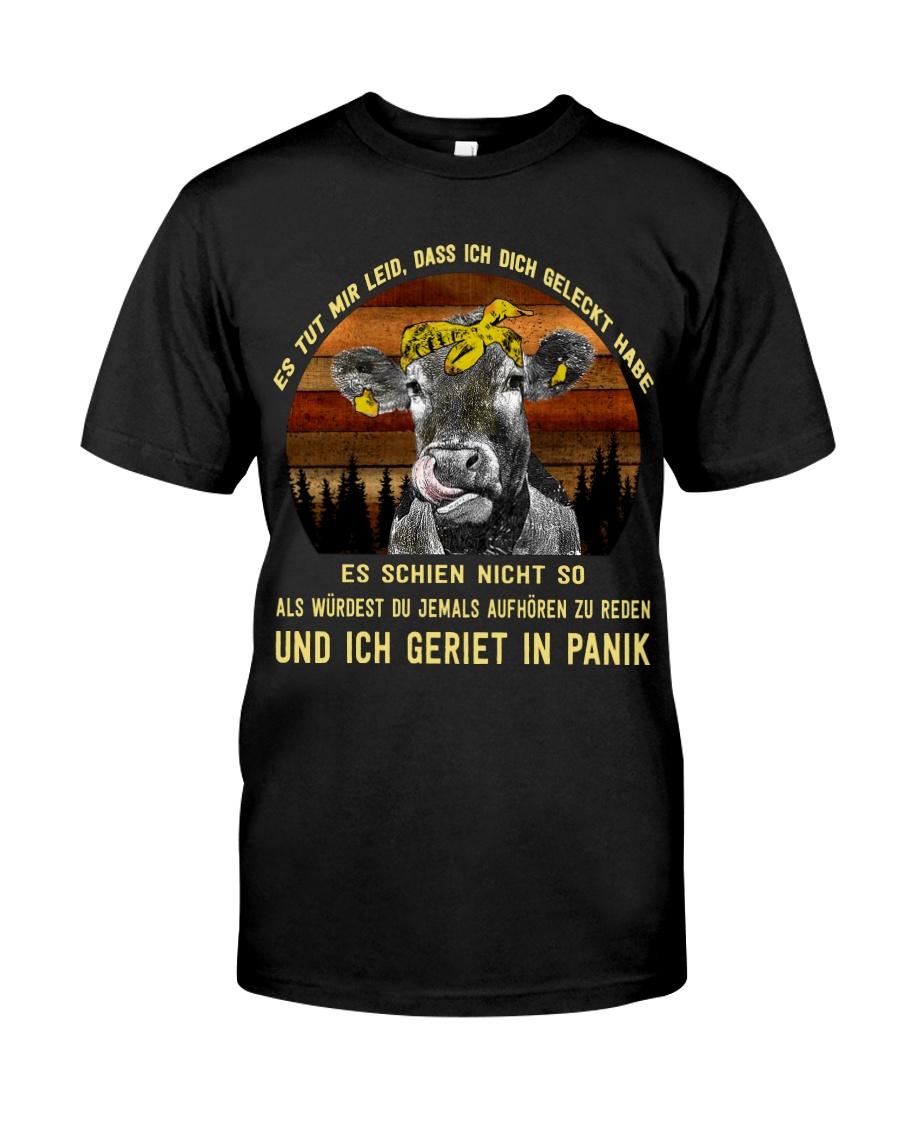 cow T-shirt - I'm sorry I licked you german vs Classic T-Shirt