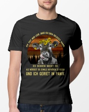 cow T-shirt - I'm sorry I licked you german vs Classic T-Shirt lifestyle-mens-crewneck-front-13
