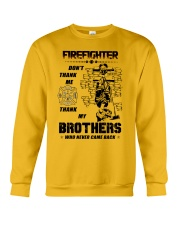 Firefighter Brother Crewneck Sweatshirt thumbnail