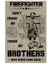Firefighter Brother 11x17 Poster front