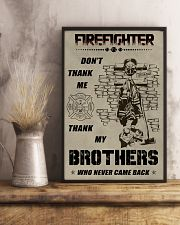 Firefighter Brother 11x17 Poster lifestyle-poster-3