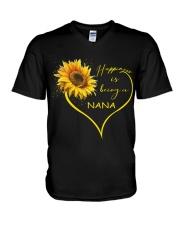 sunflower mug- being a Nana V-Neck T-Shirt thumbnail