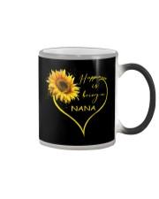 sunflower mug- being a Nana Color Changing Mug thumbnail