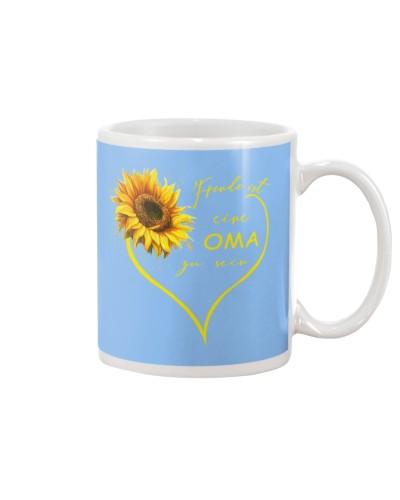 sunflower mug - being a Nana german vs