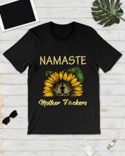sunflower T-shirt - yoga Namaste Classic T-Shirt lifestyle-mens-crewneck-front-17
