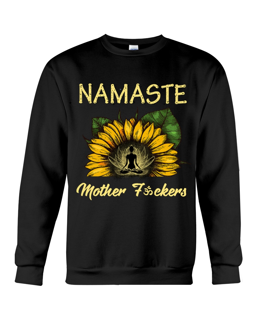 sunflower T-shirt - yoga Namaste Crewneck Sweatshirt