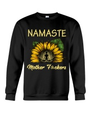 sunflower T-shirt - yoga Namaste Crewneck Sweatshirt thumbnail