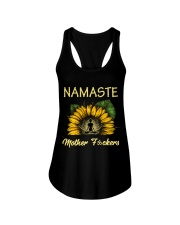 sunflower T-shirt - yoga Namaste Ladies Flowy Tank thumbnail