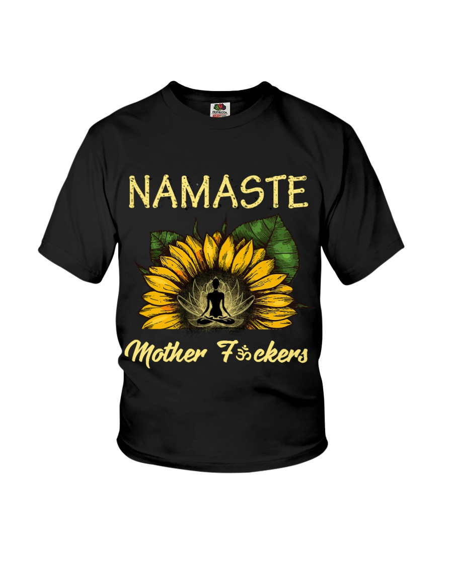 sunflower T-shirt - yoga Namaste Youth T-Shirt