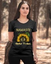 sunflower T-shirt - yoga Namaste Ladies T-Shirt apparel-ladies-t-shirt-lifestyle-05
