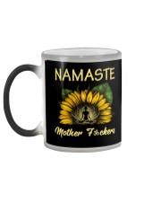 sunflower T-shirt - yoga Namaste Color Changing Mug color-changing-left