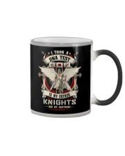 knight T-shirt - knights are my brothers Color Changing Mug thumbnail