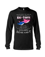 shark mug - Don't mess with me german vs Long Sleeve Tee thumbnail