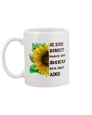 sunflower mug - I'm blunt Mug back