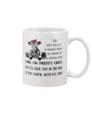 cow mug - I'm more of a mama cow Mug front