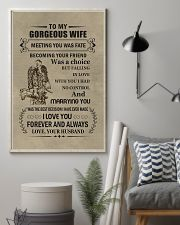 to my gorgeous wife 11x17 Poster lifestyle-poster-1