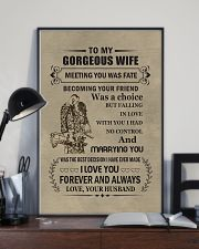 to my gorgeous wife 11x17 Poster lifestyle-poster-2