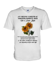 sunflower mug - to wife - never forget that V-Neck T-Shirt thumbnail