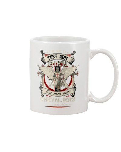 knight mug - knights are my brothers french vs