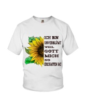 sunflower mug - I'm blunt Youth T-Shirt thumbnail