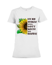 sunflower mug - I'm blunt Premium Fit Ladies Tee thumbnail