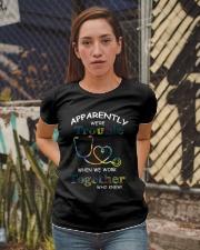 medical T-shirt - we're trouble Ladies T-Shirt apparel-ladies-t-shirt-lifestyle-03