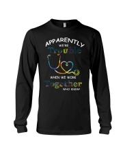medical T-shirt - we're trouble Long Sleeve Tee thumbnail