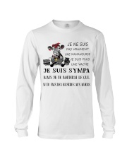 cow T-shirt - I'm more of a mama cow french vs Long Sleeve Tee thumbnail