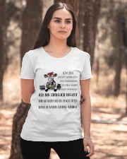 cow T-shirt - I'm more of a mama cow german vs Ladies T-Shirt apparel-ladies-t-shirt-lifestyle-05