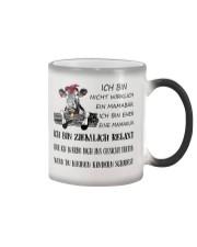 cow T-shirt - I'm more of a mama cow german vs Color Changing Mug thumbnail