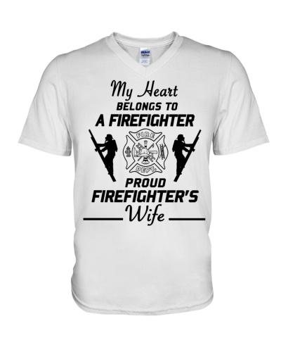 T-Shirt Firefighter