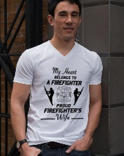 T-Shirt Firefighter V-Neck T-Shirt lifestyle-mens-vneck-front-2