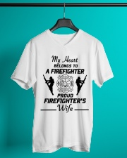 T-Shirt Firefighter V-Neck T-Shirt lifestyle-mens-vneck-front-3