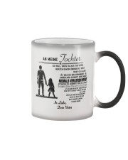 Make it the meaningful message to your son Color Changing Mug thumbnail