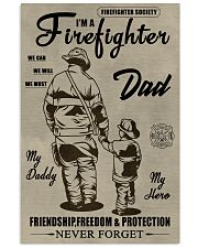My daddy Firefighter 11x17 Poster front