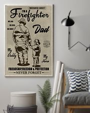 My daddy Firefighter 11x17 Poster lifestyle-poster-1