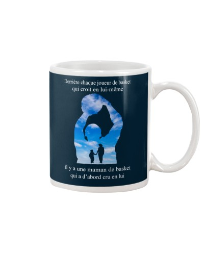basketball mug - Mom son - basketball player