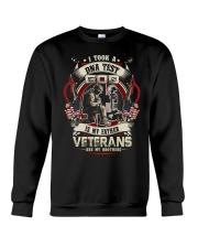 soldier mug - Veterans are my brothers Crewneck Sweatshirt thumbnail