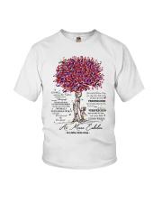 family mug - to granddaughter - never lose Youth T-Shirt thumbnail